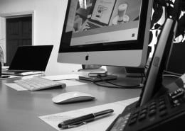 Professional graphic design studio in HP234AF