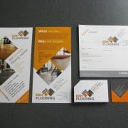 Business start up Branded graphics literature