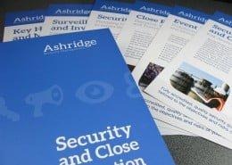 Corporate services literature print