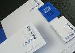 Contemporary corporate stationery designers