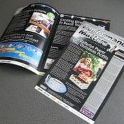 Designer newsletter visually striking!