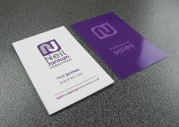 Contemporary business card designers Tring