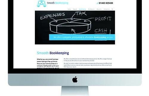 Bespoke corporate website development