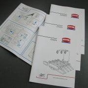 Instruction booklet designers and illustrators Tring